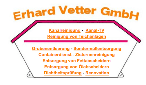 Erhard Vetter GmbH Am Starksborn 6  61276 Weilrod